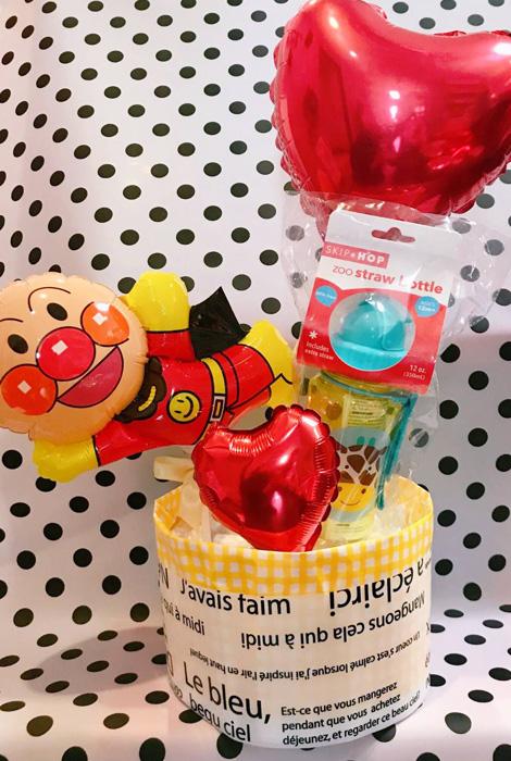 【DC-09】アンパンマンおむつケーキ