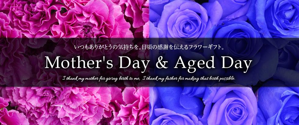 母の日&敬老の日フラワーギフト特集