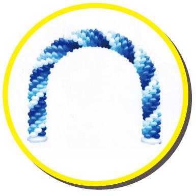 バルーンアーチのイメージ