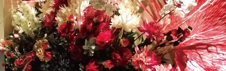 会場装花・活け込み